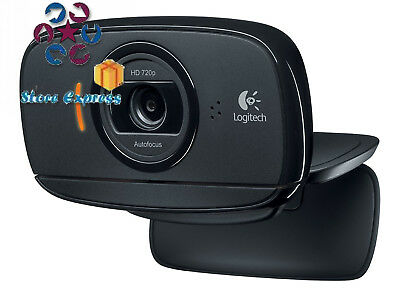 Logitech HD Webcam C525 Webcam, PC / Mac, Face Tracking