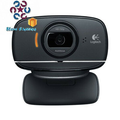 Logitech C525 HD Webcam- Black