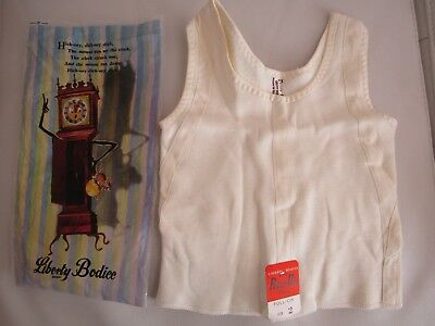 Vintage 1950s Child's Liberty Bodice NEW with Original Packaging Size 2