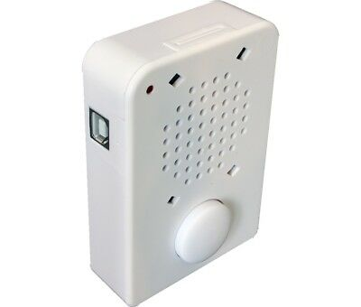300 Second (5 minutes) USB Recording Module with PUSH-SWITCH and White Enclosure