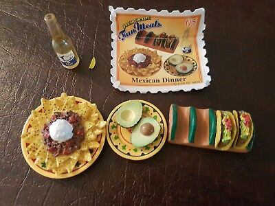 Re-Ment Rare Puchi Petit Fun Meals Box #5 Mexican Dinner - Barbie Sized Food