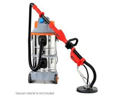Extendable Drywall Sander Dust Free Sanding Head Tool Ceiling Extend 710W NEW