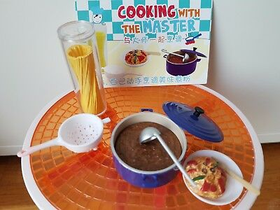 Orcara (Re-Ment Sized)  Cooking with the Master Box #3 - Barbie Sized Food