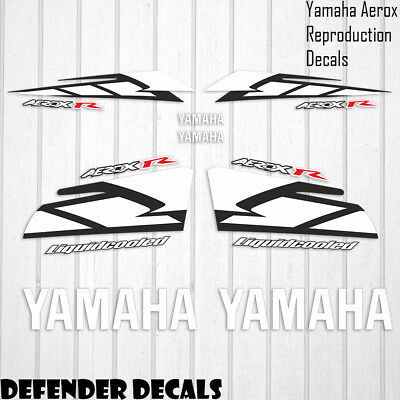 Yamaha Aerox R 2004 RED MotoGP Decals Stickers Graphics Kit Scooter Reproduction