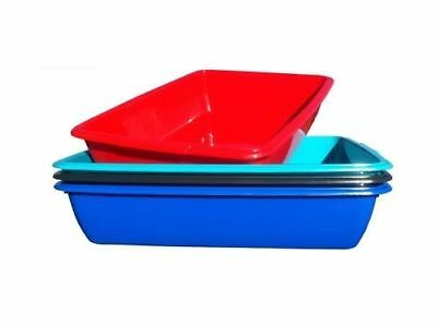Cat Litter Tray - Medium/large - Dog - Pet - Puppie - Toilet - Loo - 4 Colours
