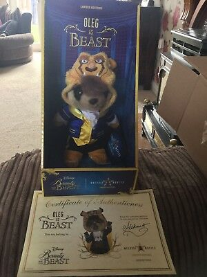 Oleg As beast, from Disneys Beauty And The Beast.