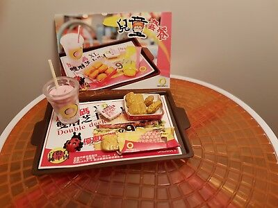 Orcara (Re-Ment Sized)  Fast Food #4 - Barbie Sized Food