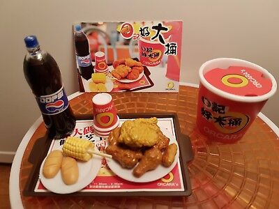 Orcara (Re-Ment Sized)  Fast Food #1 - Barbie Sized Food