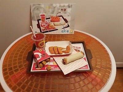 Orcara (Re-Ment Sized)  Fast Food #2 - Barbie Sized Food