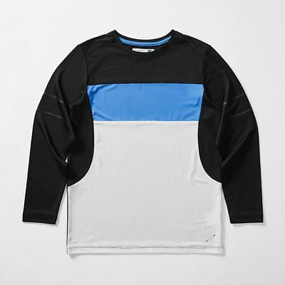 NEW Active Long Sleeve Panel Top Kids