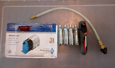 New boxed mini blue condense pump, used drain line cleaner free postage