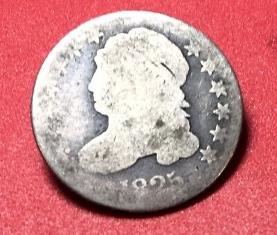 1825 Capped Bust Silver Dime, tough series