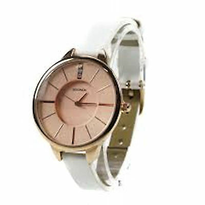 Sekonda White and Rose Gold Ladies Watch 4221 (New with tags)