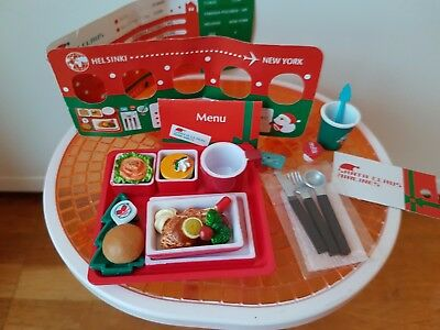 Re-Ment Rare Puchi Airlines Box #6 Santa Claus Airlines - Barbie Sized Food