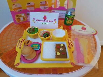 Re-Ment Rare Puchi Airlines Box #8 Pineapple Airlines - Barbie Sized Food