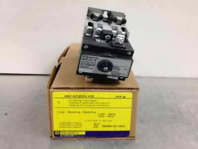 10 NEW at MostElectric: 8501XO20XLV02 SQUARE D 8501-XO20XLV02