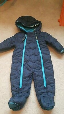 Ted Baker Baby boy snowsuit 3-6 months