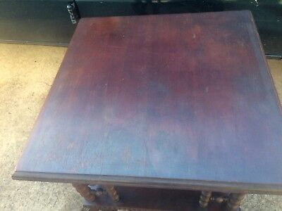 3 Shelf Antique Hobnail Whatnot Table. Circa Late 1800's