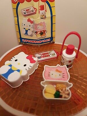 Re-Ment Hello Kitty, My Meals 2009 Box #2 Bento Lunch Box - Barbie Sized Food