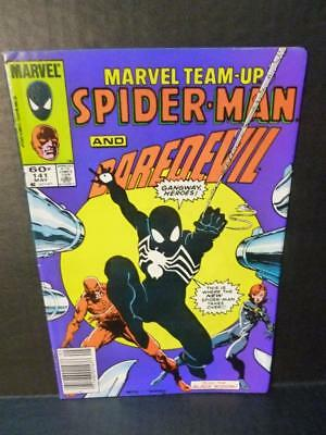 Marvel Team Up #141 1984 Spider-man & Daredevil 1st Black Suit Costume P92