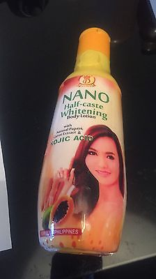 Nano Half Caste Whitening With Papaya, Carrot Extract & Kojic Acid Lotion,