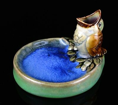 Rare Doulton Lambeth- Sparrow Bird With Open Beak Bibelot Figure Model Dish 8740