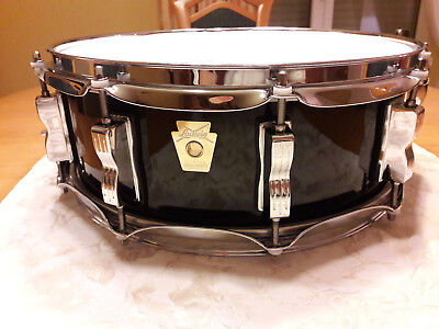 """Ludwig Classic Maple Snare 14""""x5"""" in black sable laquer (high gloss)"""