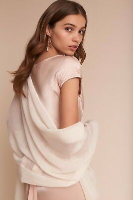 New without tags - BHLDN Rue Pashmina Wrap Ivory