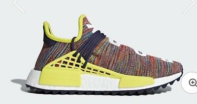 Adidas Nmd human race size 7.5 U.K. Multi coloured