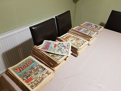 Victor Comics MASSIVE Vintage Job Lot 210 Issues from 1974 to 1978