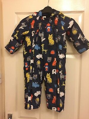 snowsuit boys Marks and Spencers 18-24 months