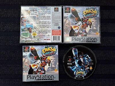 Crash Bandicoot 3 - Warped Sony Playstation 1 Spiel PS1 PS one PSX PSone PS2 top