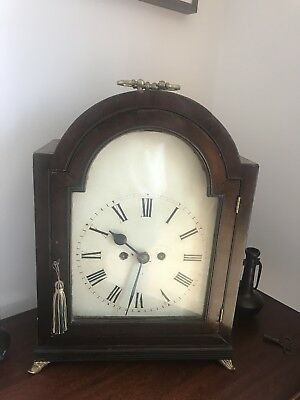 Antique Double Fusee Clock