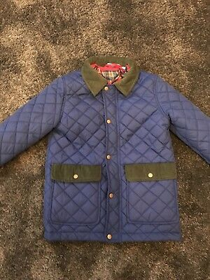 Boys Quilted Jacket Age 7-8