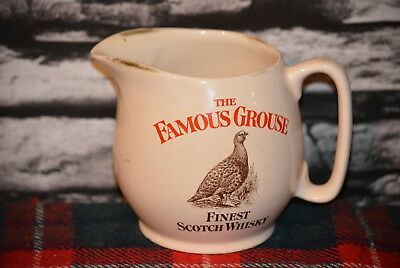 The Famous Grouse Finest Scotch Whisky Water Jug Wasser Krug #c0290