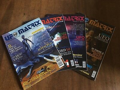 UFO Matrix Magazine 4 Issues