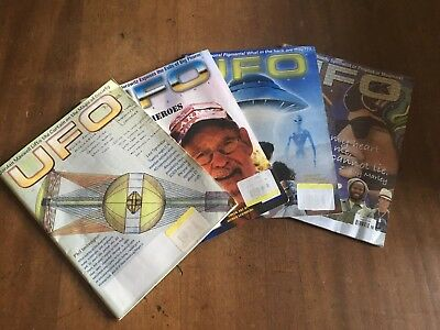Ufo Magazine 4 Issues