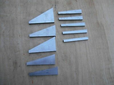 Machinist angle blocks lot of 10