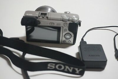 Great Sony Alpha a6000 24.3MP Digital Camera Silver(Kit w/ E PZ OSS 16-50mm Lens
