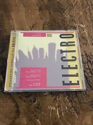 Electro Street Sounds Ultimate Collection  MP3(22 VOLUMES & Crucial 1-3)DVDr