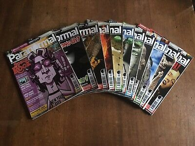 Paranormal Magazine 12 Issues