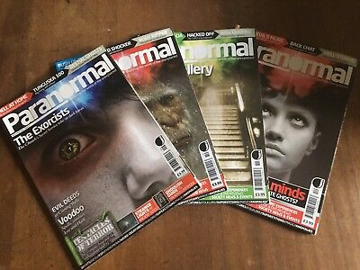 Paranormal Magazine 4 Issues
