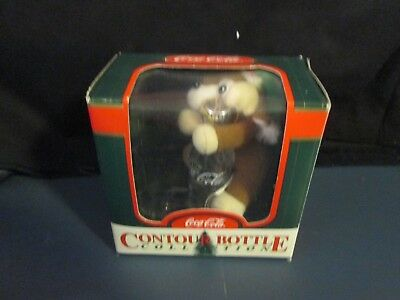 Coca-Cola Contour Bottle 1999 Ornament - NIB