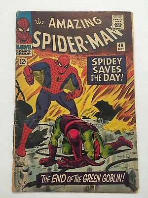 The Amazing Spider-Man #40 (Sep 1966, Marvel)