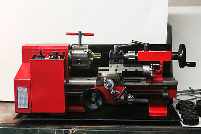 Mini Metal Lathe 7x10 with loads of Extras 3 mths old