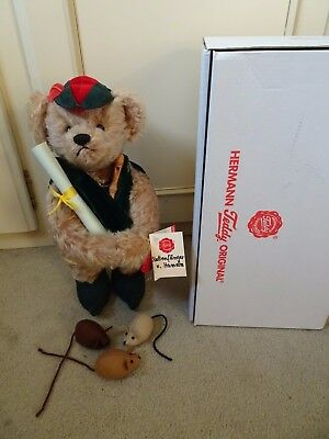 Genuine Limited Edition Hermann Bear - 58/600 Pied Piper with mice *New in box*