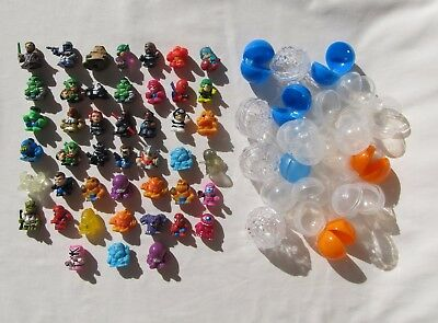Lot of 46 Blip Toys Squinkies for Boys Star Wars DC Comics Bubbles