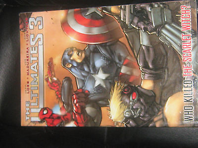 Marvel Comics The Ultimates 3 Who Killed The Scarlet Witch Graphic Novel