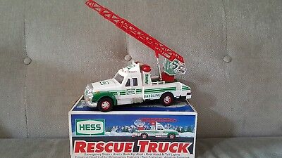 1994 Hess Toy Rescue Truck in Box