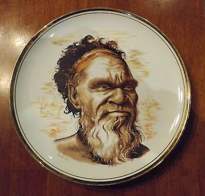 "Rembrandt's ""baiame"" 26Cm Decorative China Plate Made In Australia I Will Post"